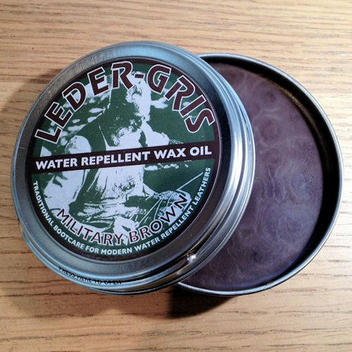 AltBerg Leder Gris Boot Polish, MOD BROWN