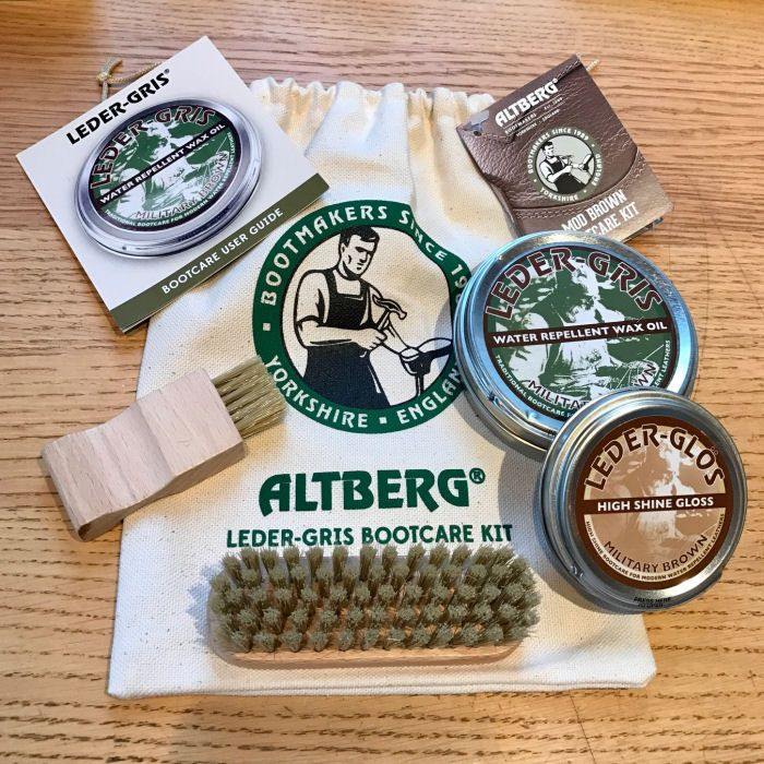 AltBerg Military Bootcare Kit, MOD Brown