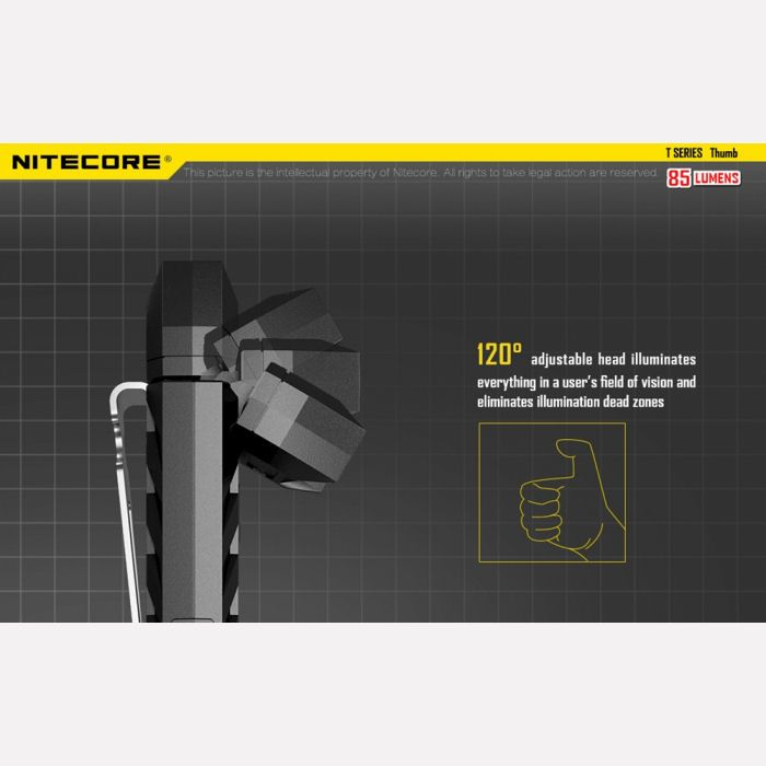 Nitecore Thumb USB Rechargeable Vest Light