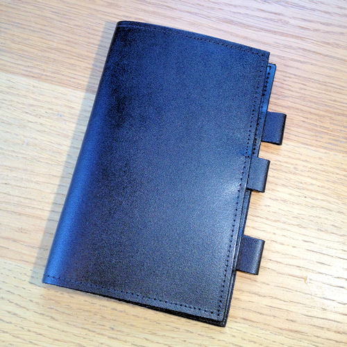PWL 9131 Black Leather Pocket Notebook Cover